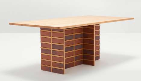 Brick Collection Table