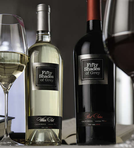 Sensuous Literary Wines - The Official Fifty Shades of Grey Wine Will Excite Fans of the Novels