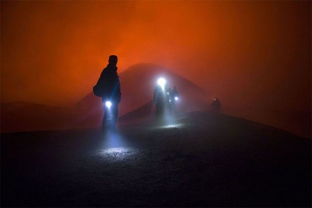 Volcanic Expedition Photography