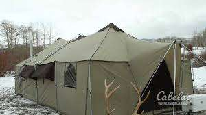 Luxuriously Large Tents - Redefine Your Idea of Roughing it with the Cabela Ultimate Alkanak Tent