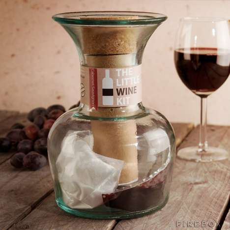Compact Wine-Making Kits - The Little Wine Kit is Making Wine Easier and Tastier