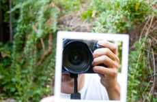 Nostalgic Photo Hand Mirrors - Watch Yourself Shaked Like a Polariod Picture with This Cute Mirror