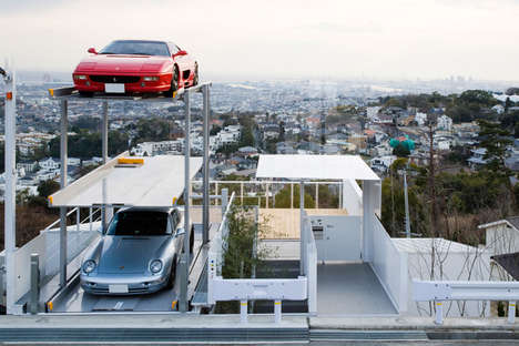 Visionary Open-Air Garages - Showcase Your Sky-High Car Collection with an Outdoor Open-Air Garage