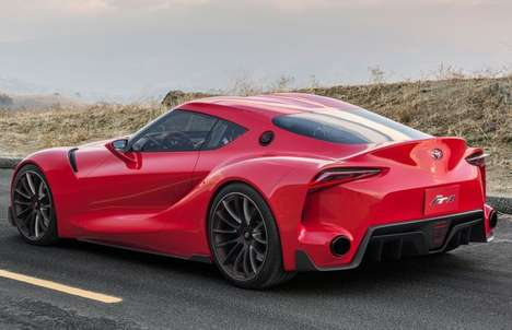 Wind-Inspired Sports Cars - The Toyota FT-1 Concept Will be Unveiled at the Detroit Auto Show 2014