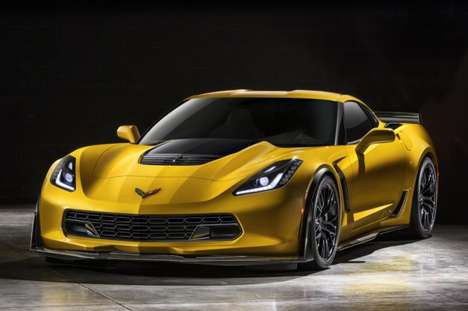 Speed-Satisfying Supercars - The 2015 Chevrolet Corvette Stingray Z06 at the Detroit Auto Show 2014