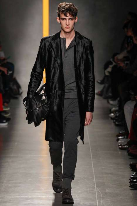 Upscale Lounge Apparel - This Bottega Veneta Fall Collection Brings Structure to Basic Sweatpants