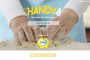 The Handy Cooking App by Flora Eliminates Messes and Buttery Fingers
