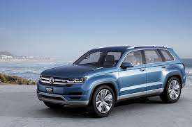 Sleek German SUVs - Volkswagen Announced SUV Plans for North America at the Detroit Auto Show 2014