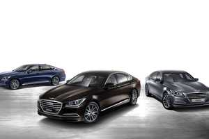 The 2015 Hyundai Genesis Sedan Was Unveiled at the Detroit Auto Show 2014