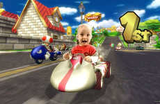 Baby Video Game Mashups