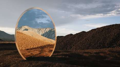 Mirrored Landscape Photography - A Moment