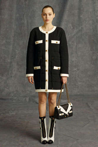 Social Media-Debuted Fashions - The Moschino Pre-Fall 2014 Collection is Youthful and Embellished