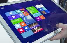 From Slim Sized to Massive Display Resolution CES Tablets