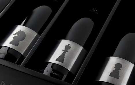 Metal-Bound Beverages - Cuatro Almas Wine Packaging's Steel Label is for Optimal Preservation