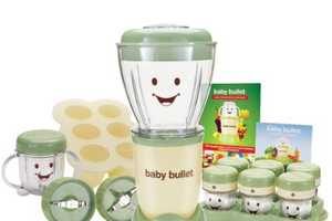 The Baby Bullet Helps You Make 7 Days Worth of Nutritious Baby Food