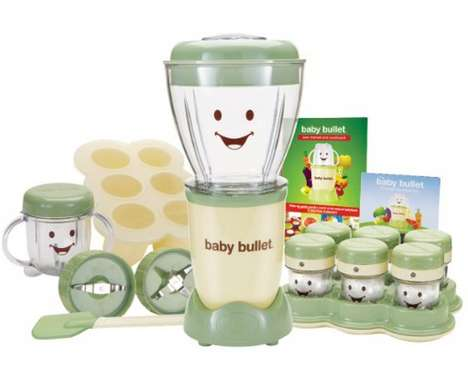 Toddler-Friendly Blenders - The Baby Bullet Helps You Make 7 Days Worth of Nutritious Baby Food