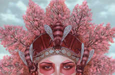 Vivdly Exotic Headdress Art