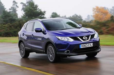 Compact Eco Crossover SUVs - The Nissan Qashqai 2014 Debuted at This Year