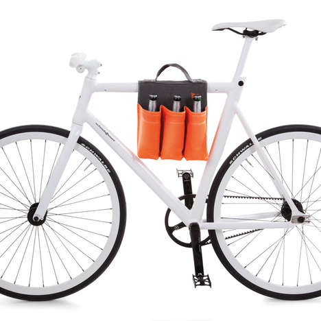 Bike-Friendly Bottle Holders - This Beverage Carrier is the Ultimate Convenience for Cyclists