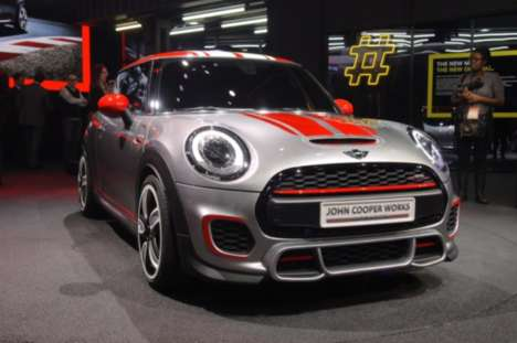 Athletic-Remixed Mini Autos -  The Mini John Cooper Works Concept is Adorable