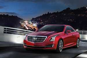 2015 Cadillac ATS Coupe Debuts at NAIAS