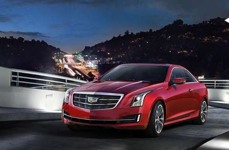 Highly Anticipated Luxury Coupes - 2015 Cadillac ATS Coupe Debuts at NAIAS
