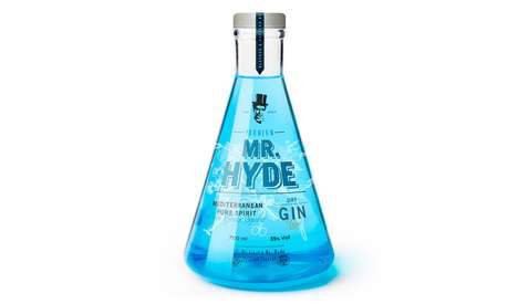 Scientific Bottle Branding - Dr. Jekyll & Mr. Hyde Packaging Includes a Pair of Different Beverages