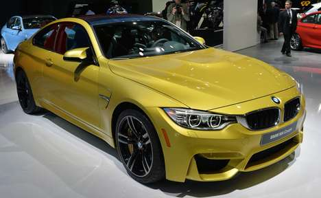Luminous Ethereal Vehicles - The 2015 BMW M4 Coupe Will Be Showcased at The 2014 NAIAS