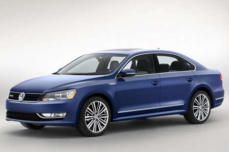 Cylinder-Deactivating Cars - The Passat BlueMotion Concept Launched at the 2014 Detroit Auto Show