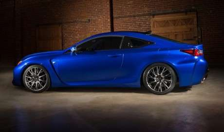 Trapezoid-Inspired Cars - The New 2015 Lexus RCF Was Revealed at 2014 NAIAS