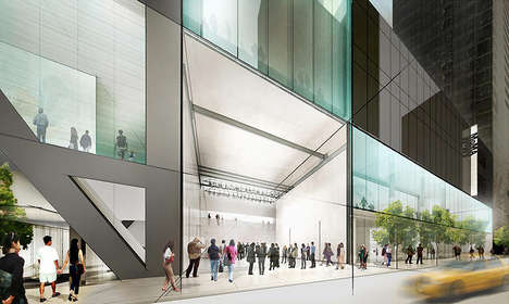 Redefined Glass Museums - MoMA