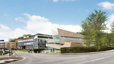 Multimillion Research Facilities - Libeskind Constructs Iconic Physics Center for Durham University
