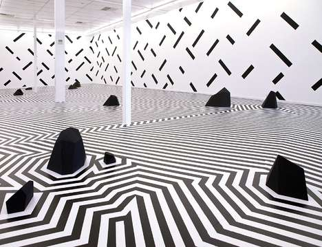 Hypnotic Geometric Installations - This Geomtric Art Installement Can Transport You to Another World