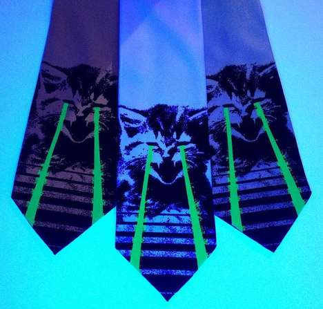 Nerdy Graphic Neckties - These Custom Neckties Make Being a Nerd Look Oh So Suave