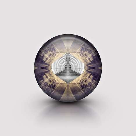 Spherical Architectural Photography - The Orb Project by Edward Neumann Depicts Contained Landscapes