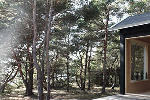 The Ermitage Cabin is a Minimalist Retreat into Swedish Nature