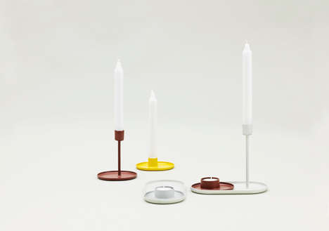 Family-Oriented Candles - This Candle Design Can be Arranged Like a Family