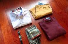 Monthly Menswear Clothing Subscriptions - The Mr. Club Lets Men Borrow and Buy Outfits Monthly