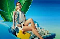 The Lily China Spring 2014 Campaign Stars Barbara Palvin