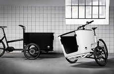 Cargo-Carrying Tilting Tricycles - The Cargo Tricycle Lets You Carry Cargo with Ease