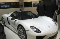 Updated Ultimate Luxury Cars - The Porsche 918 Spyder Weissach Turns Heads at NAIAS 2014