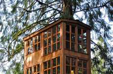 Concealed Tree House Hotels - Nelson Invites Nature Lovers to Spend a Night Amongst the Trees