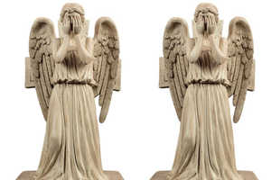 These Weeping Angels Will Guard Your Books and Keep You Awake at Night