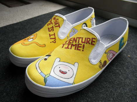 41 Adventure Time Creations - From Cult Cartoon High Tops to Quirky Cartoon Neck Ties