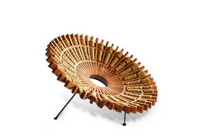 The Maria Chair Fans Outwards to Mimic Traditional Mexican Dresses