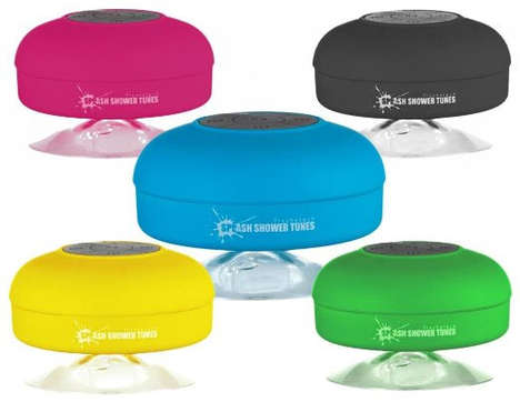 Waterproof Bluetooth Speakers - Bath Time Is Going to Sound So Good with These Waterproof Bluetooth