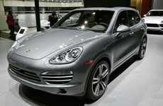 Lavishing Platinum SUV Vehicles - The Porsche Cayenne Platinum Edition Was Showcased at 2014 NAIAS