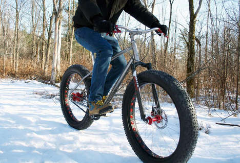 Winter-Ready Bicycles - This 'Fat-Bike' Offers the Best Performance in the Worst Conditi