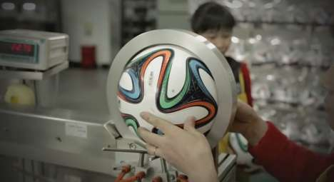 Six-Paneled Soccer Balls (UPDATE) - Adidas