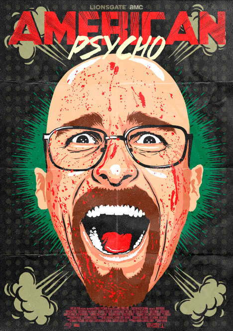 Menacing Pop Culture Illustrations - Butcher Billy